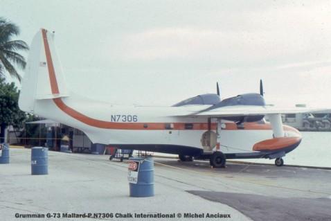 img546 Grumman G-73 Mallard-P N7306 Chalk International © Michel Anciaux