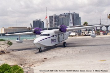 img683 Grumman G-73T Turbo Mallard N130FB Chalk's Ocean Airways © Michel Anciaux