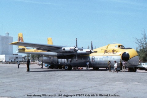 img692 Armstrong Whitworth 101 Argosy N37807 Kris Air © Michel Anciaux
