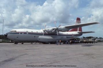 img701 Short Belfast C.1 G-BEPE Heavylift Cargo Airlines © Michel Anciaux