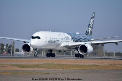 001 Airbus A350-941 F-WWCF Airbus © Michel Anciaux