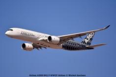 002 Airbus A350-941 F-WWCF Airbus © Michel Anciaux