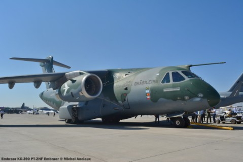 007 Embraer KC-390 PT-ZNF Embraer © Michel Anciaux