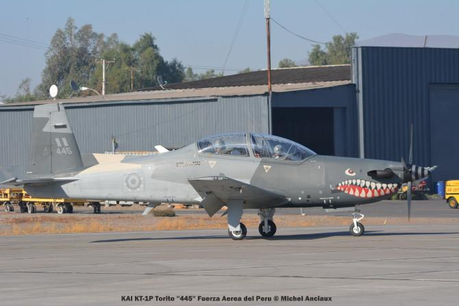 024 KAI KT-1P Torito ''445'' Fuerza Aerea del Peru © Michel Anciaux