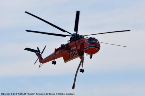 026 Sikorsky S-64-F N171AC ''Annie'' Erickson Air-Crane © Michel Anciaux