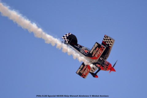 032 Pitts S-2S Special N540S Skip Stewart Airshows © Michel Anciaux