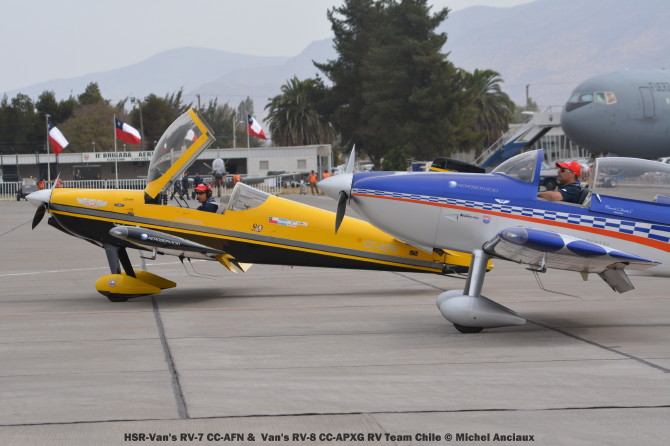 069 HSR-Van's RV-7 CC-AFN & Van's RV-8 CC-APXG RV Team Chile © Michel Anciaux