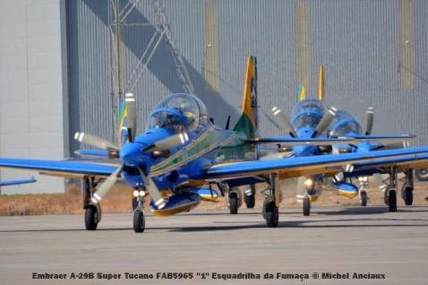 090 Embraer A-29B Super Tucano FAB5965 ''1'' Esquadrilha da Fumaça © Michel Anciaux
