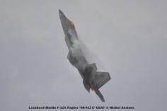 099 Lockheed Martin F-22A Raptor ''08-4171'' USAF © Michel Anciaux