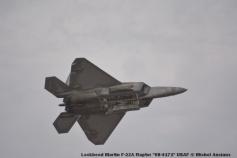 100 Lockheed Martin F-22A Raptor ''08-4171'' USAF © Michel Anciaux