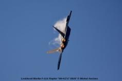 102 Lockheed Martin F-22A Raptor ''08-4171'' USAF © Michel Anciaux
