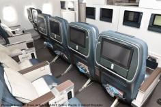 12 Premium Economy Class Airbus A350-941 Cathay Pacific © Hubert Creutzer