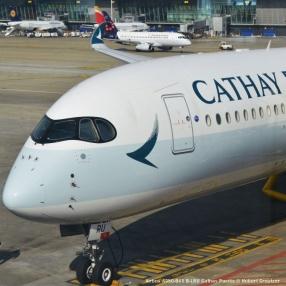 DSC_0004 Airbus A350-941 B-LRU Cathay Pacific © Hubert Creutzer