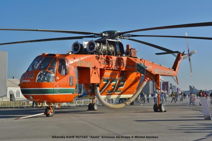 DSC_0368 Sikorsky S-64F N171AC ''Annie'' Erickson Air-Crane © Michel Anciaux