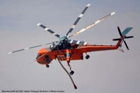 DSC_0475 Sikorsky S-64F N171AC ''Annie'' Erickson Air-Crane © Michel Anciaux