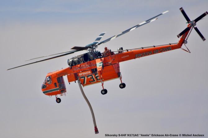 DSC_0564 Sikorsky S-64F N171AC ''Annie'' Erickson Air-Crane © Michel Anciaux