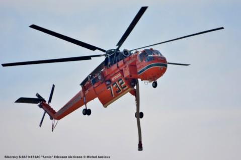 DSC_0585 Sikorsky S-64F N171AC ''Annie'' Erickson Air-Crane © Michel Anciaux