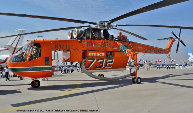 DSC_0672 Sikorsky S-64F N171AC ''Annie'' Erickson Air-Crane © Michel Anciaux