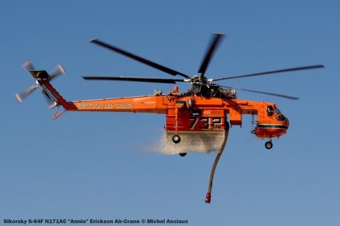 DSC_1426 Sikorsky S-64F N171AC ''Annie'' Erickson Air-Crane © Michel Anciaux