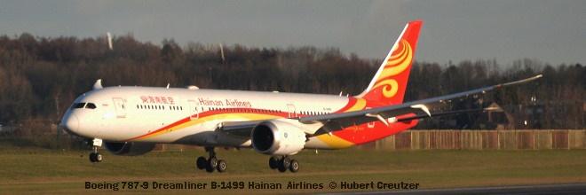 DSC_1887 Boeing 787-9 Dreamliner B-1499 Hainan Airlines © Hubert Creutzer