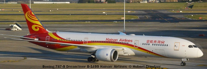 DSC_1903 Boeing 787-9 Dreamliner B-1499 Hainan Airlines © Hubert Creutzer