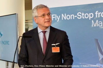 DSC_2282 Kris Peeters, Vice Prime Minister and Minister of Economy © Hubert Creutzer