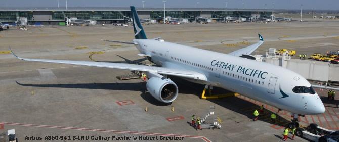 DSC_2375 Airbus A350-941 B-LRU Cathay Pacific © Hubert Creutzer