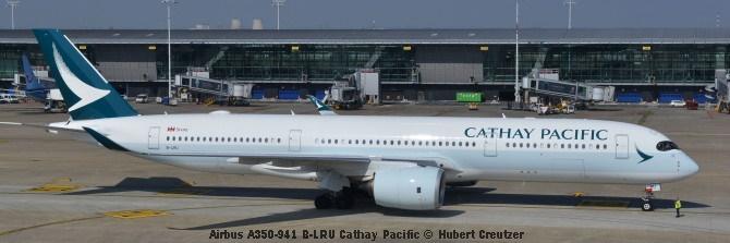 DSC_2437 Airbus A350-941 B-LRU Cathay Pacific © Hubert Creutzer
