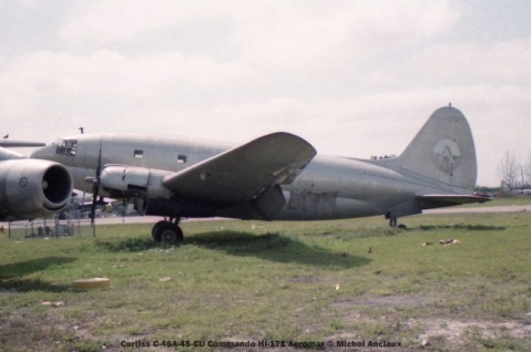 img549 Curtiss C-46A-45-CU Commando HI-171 Aeromar © Michel Anciaux
