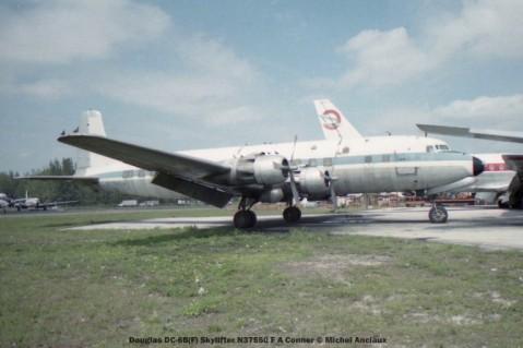 img551Douglas DC-6B(F) Skylifter N37560 F A Conner © Michel Anciaux