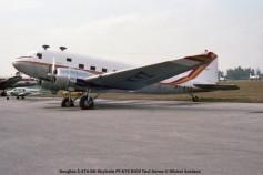 img558 Douglas C-47A-DK Skytrain PT-KYZ RICO Taxi Aereo © Michel Anciaux