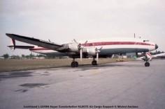 img560 Lockheed L-1049H Super Constellation N1007C Air Cargo Support © Michel Anciaux