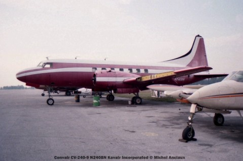 img566 Convair CV-240-9 N240BN Kavair Incorporated © Michel Anciaux
