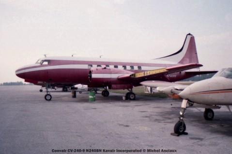 img566 Convair CV-240-9 N240BN Kavair Incorporated © Michel Anciaux