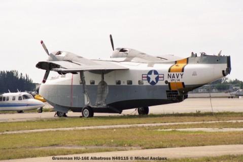 img581 Grumman HU-16E Albatross N49115 © Michel Anciaux