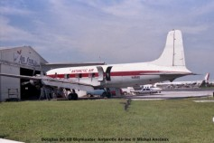 img591 Douglas DC-6B Skymaster Antarctic Air Inc © Michel Anciaux