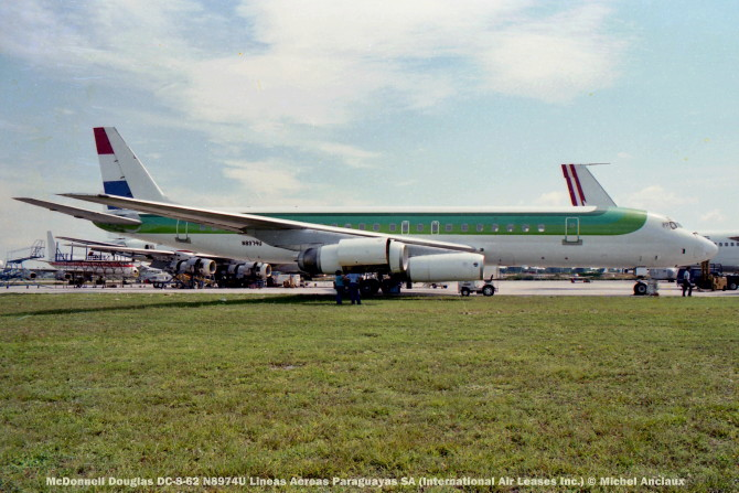 img602 McDonnell Douglas DC-8-62 N8974U Lineas Aereas Paraguayas SA (International Air Leases Inc.)