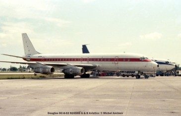 img603 Douglas DC-8-53 N245HG G & B Aviation © Michel Anciaux