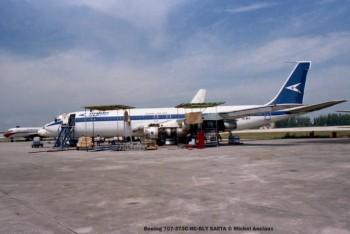 img604 Boeing 707-373C HC-BLY SAETA © Michel Anciaux