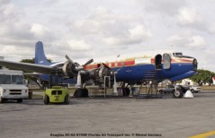 img648 Douglas DC-6A N70BF Florida Air Transport Inc. © Michel Anciaux