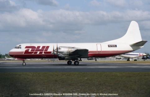 img668 Lockheed L-188 Electra N590HG DHL (Trans Air Link)