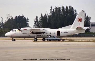 img674 Antonov An-24RV UR-46838 Med-Air © Michel Anciaux