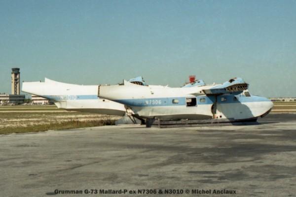 001 Grumman G-73 Mallard-P ex N7306 & N3010 © Michel Anciaux