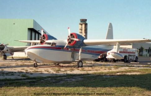 002 Grumman G-73 Mallard N42DA LAC Management © Michel Anciaux