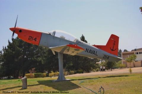 006 Pilatus PC-7 ''214'' Armada de Chile © Michel Anciaux