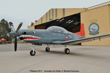 009 Pilatus PC-7 Armada de Chile © Michel Anciaux