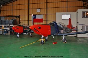010 Pilatus PC-7 Armada de Chile © Michel Anciaux