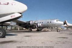 018 Douglas DC-6A HI-558 Aero Rental Cargo Caribe © Michel Anciaux