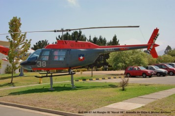 022 Bell UH-57 Jet Ranger III ''Naval 38'' Armada de Chile © Michel Anciaux