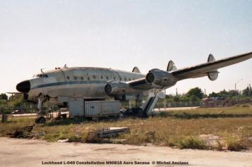 028 Lockheed L-049 Constellation N90816 Aero Sacasa © Michel Anciaux © Michel Anciaux